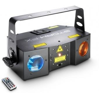 Cameo STORMFX -Efect 3in1 Laser,Stroboscop si Derby