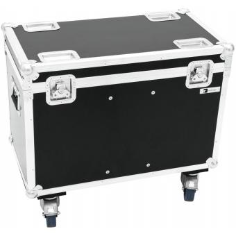 ROADINGER Flightcase 2x TMH-X12 with wheels
