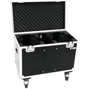ROADINGER Flightcase 2x TMH-X12 with wheels #3