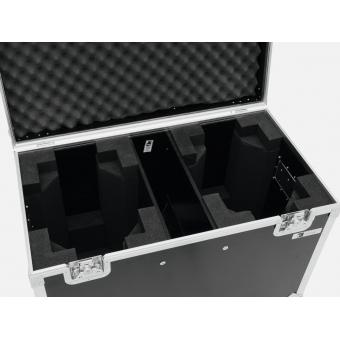 ROADINGER Flightcase 2x TMH-X12 with wheels #4