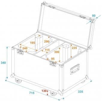 ROADINGER Flightcase 2x TMH FE-600 #5