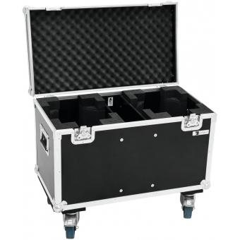 ROADINGER Flightcase 2x TMH FE-1800