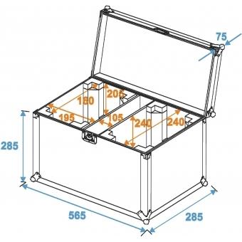 ROADINGER Flightcase 2x TMH-14/FE-300 #5