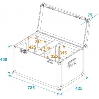 ROADINGER Flightcase 2x THA-50F #5