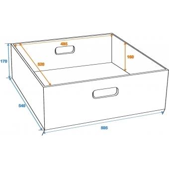 ROADINGER Drawer Box for Universal Tour Case #2