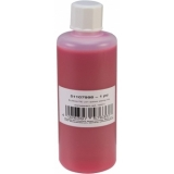 EUROLITE UV-active Stamp Ink, transparent red, 100ml