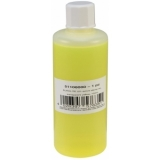 EUROLITE UV-active Stamp Ink, transparent yellow, 100ml