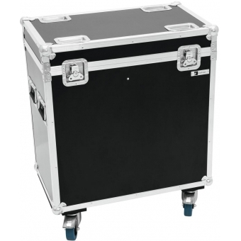 ROADINGER Flightcase 2x PFE-100/120