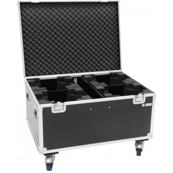 ROADINGER Flightcase 4x TMH FE-1800 with wheels #2