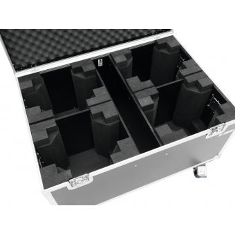ROADINGER Flightcase 4x TMH FE-1800 with wheels #4