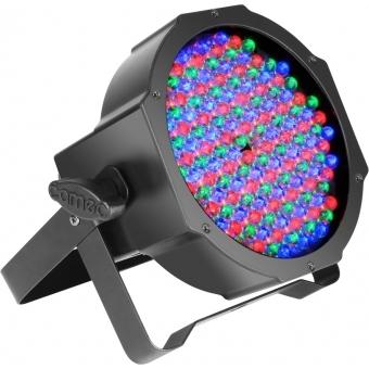 Cameo FLAT PAR CAN RGB 10 - 144 x 10 mm negru