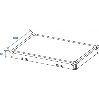 ROADINGER Universal Drawer Case ODS-1 with wheels #6