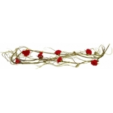 EUROPALMS Rose Garland (EVA), red