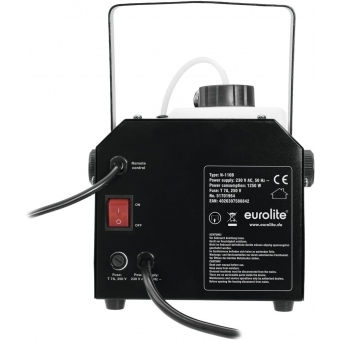 EUROLITE N-110B Fog Machine black #3