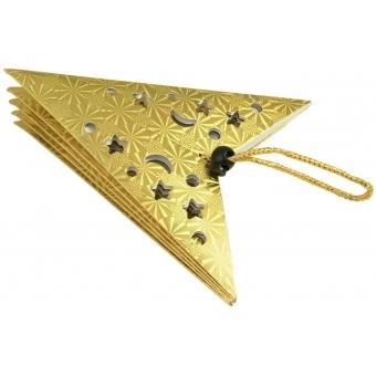 EUROPALMS Star Lantern, Paper, gold, 40 cm #2