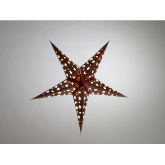 EUROPALMS Star Lantern, Paper, blue, 40 cm #6