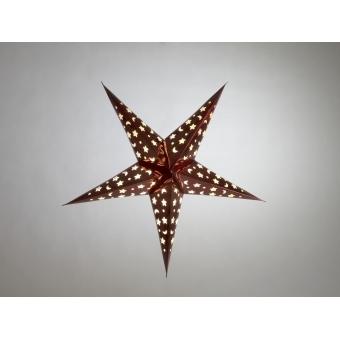 EUROPALMS Star Lantern, Paper, blue, 50 cm #6