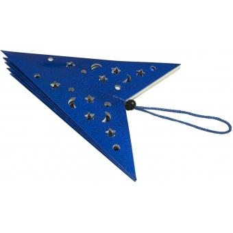 EUROPALMS Star Lantern, Paper, blue, 75 cm #2