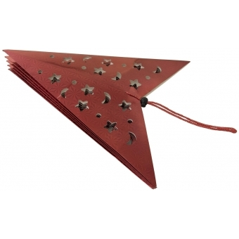 EUROPALMS Star Lantern, Paper, red, 40 cm #2