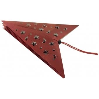 EUROPALMS Star Lantern, Paper, red, 40 cm #2
