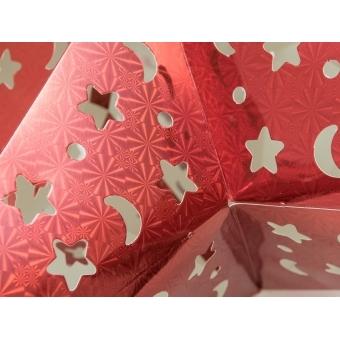 EUROPALMS Star Lantern, Paper, red, 40 cm #3