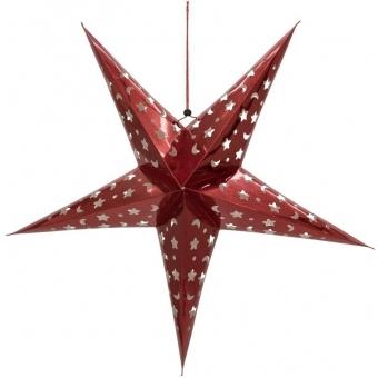 EUROPALMS Star Lantern, Paper, red 50 cm