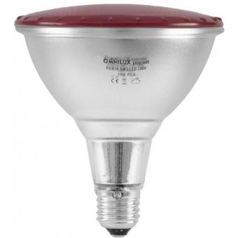 OMNILUX PAR-38 230V SMD 15W E-27 LED red