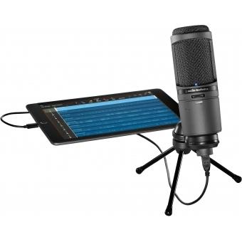 Microfon studio Audio-Technica AT2020USBi #3