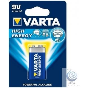 Baterie VARTA High Energy 9V