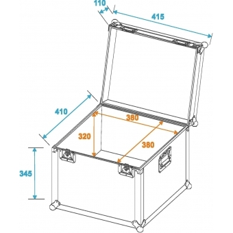 ROADINGER Universal Transport Case 40x40cm #2