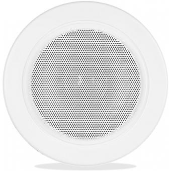 AWP06/W - Waterproof Ceiling Speaker 6w/100v & 8ohm - Ip65 - Ral9010