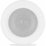 AWP06/W - Waterproof Ceiling Speaker 6w/100v & 8ohm - Ip65 - Ral9010