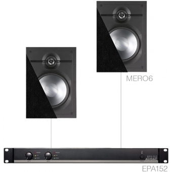 CERRA6.2E/B - Small Background Set Epa152 & 2x Mero6 - Black