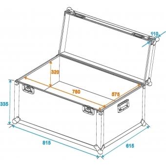 ROADINGER Universal Transport Case 80x60cm #2