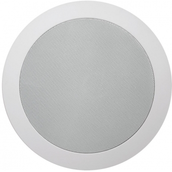 CS55/W - Quick Fit Dual Cone Ceiling Speaker 6w/100v & 8ohm - Ral9010
