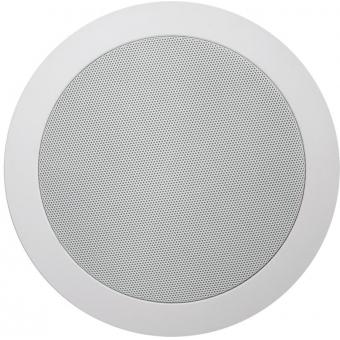 CS55/W - Quick Fit Dual Cone Ceiling Speaker 6w/100v & 8ohm - Ral9010