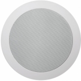 "CS55D/W - Quick-fit™ dual cone 5 1/4"" ceiling speaker 8 Ohm/100V - 16 Ohm version"