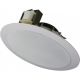 CSA506/W - Spring-fit Ceiling Speaker 6w/100v - Ral9010
