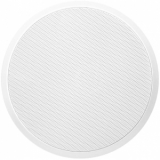 CSF506/W - Ceiling speaker with fire dome 100V - White version ral9010