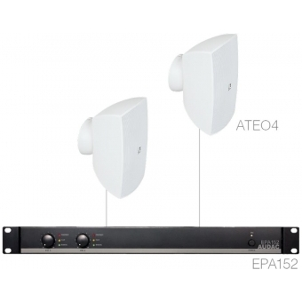 FESTA4.2E/W - Small Foreground Set 2x Ateo4 + Epa152 - White