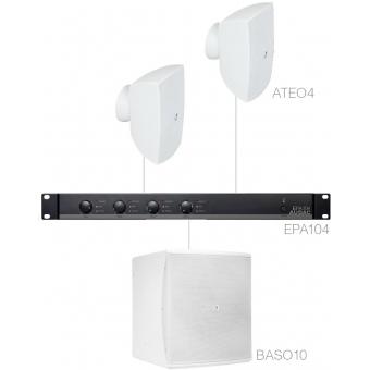 FESTA4.3E/W - 2 x ATEO4 + BASO10 + EPA104 - White