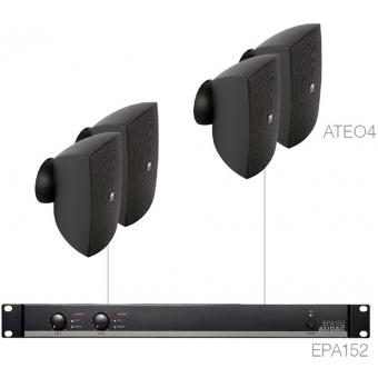 FESTA4.4E/B - Small Foreground Set 4x Ateo4 + Epa152 - Black