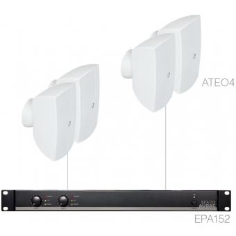 FESTA4.4E/W - Small Foreground Set 4x Ateo4 + Epa152 - White