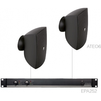 FESTA6.2E/B - 2 x ATEO6 + EPA252 - Black