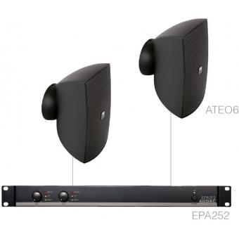 FESTA6.2E/B - Small Foreground Set 2x Ateo6 + Epa252 - Black