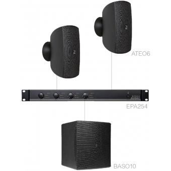 FESTA6.3E/B - Small Foreground Set 2x Ateo6 + Baso10 & Epa254 - Black
