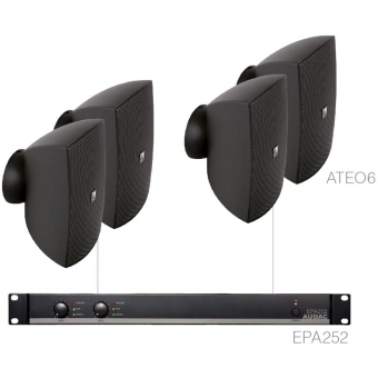 FESTA6.4E/B - Medium Foreground Set 4x Ateo6 + Epa252 - Black