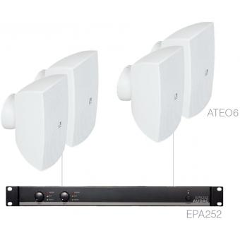 FESTA6.4E/W - Medium Foreground Set 4x Ateo6 + Epa252 - White