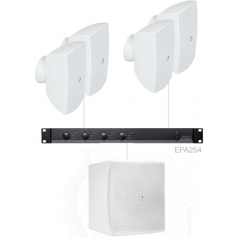 FESTA6.5E/W - Medium Foreground Set 4x Ateo6 + Baso12 & Epa254 - White