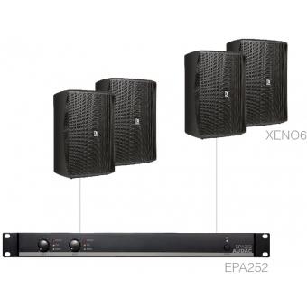 FESTA7.4E/B - 4 x XENO6 + EPA252 - Black